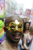 Gay Pride demonstration in London on the 40th anniversary of the first Gay Pride march. - Stefano Cagnoni - 02-07-2011