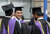 Undergraduates from the London School of Economics on their graduation day - Stefano Cagnoni - 2010s,2011,achievement,arab,arabs,BAME,BAMEs,BME,bmes,board,cities,city,degree,degrees,diversity,ED Education,edu,educate,educated,educating,education,educational,EMOTION,EMOTIONAL,EMOTIONS,ethnic,eth