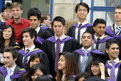 Undergraduates from the London School of Economics, including many higher fee-paying foreign students, on their graduation day. - Stefano Cagnoni - 2010s,2011,achievement,BAME,BAMEs,BME,bmes,board,chinese,cities,city,degree,diversity,ED Education,edu,educate,educated,educating,education,educational,EMOTION,EMOTIONAL,EMOTIONS,ethnic,ethnicity,fore