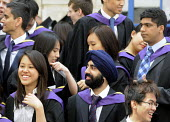 Undergraduates from the London School of Economics, including many higher fee-paying foreign students, on their graduation day. - Stefano Cagnoni - 15-07-2011