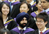 Undergraduates from the London School of Economics, including many higher fee-paying foreign students, on their graduation day. - Stefano Cagnoni - 2010s,2011,achievement,Asian,ASIANS,BAME,BAMEs,BLACK,BME,bmes,board,chinese,cities,city,degree,diversity,ED Education,edu,educate,educated,educating,education,educational,EMOTION,EMOTIONAL,EMOTIONS,et