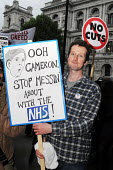 Our Health Service Not for Sale march to save the NHS, London. - Stefano Cagnoni - 17-05-2011