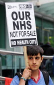 Our Health Service Not for Sale march to save the NHS, London. - Stefano Cagnoni - 2010s,2011,activist,activists,against,anti-privatisation,austerity cuts,campaign,campaigner,campaigners,campaigning,CAMPAIGNS,cut,cuts,DEMONSTRATING,demonstration,DEMONSTRATIONS,Health,Health Worker,H