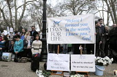 '40 Days For Life' anti-abortion campaigners staging a vigil of prayer outside the offices of the British Pregnancy Advisory Council in Bedford Square to promote their campaign against abortion. In th... - Stefano Cagnoni - &,2010s,2012,abortion,activist,activists,adult,adults,against,anti,anti-abortion movement,belief,BPAS,campaign,campaigner,campaigners,campaigning,CAMPAIGNS,Catholic,catholicism,choice,choose,choosing,