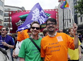 World Pride 2012 demonstration in London. Members of EQUITY join the march.. - Stefano Cagnoni - 07-07-2012