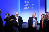 Assessors to the Levenson Inquiry in conversation immediately following Lord Justice Leveson's press conference to officially launch of the results of his Inquiry into media ethics and practise: The L... - Stefano Cagnoni - 29-11-2012