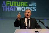 Brendan Barber gives his final address as Gen Sec to the 2012 TUC Congress. - Stefano Cagnoni - 09-09-2012