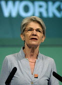 Bernadette Segol, Gen Sec of the ETUC, speaks to the 2012 TUC Congress. - Stefano Cagnoni - 09-09-2012