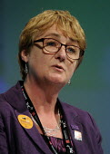 Christine Payne, Gen Sec of EQUITY, speaking at the 2012 TUC Congress. - Stefano Cagnoni - 10-09-2012