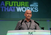 David Wiltshire of the CWU speaking at the 2012 TUC Congress. - Stefano Cagnoni - 10-09-2012