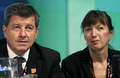 TUC 2012. Guy Ryder, Director General of the ILO with Frances O'Grady, Gen Sec Elect of the TUC at the 2012 Trades Union Congress. - Stefano Cagnoni - 11-09-2012
