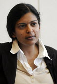 Dr Rupa Huq, Sociologist and Senior Lecturer at Kingston University, and author of Beyond Subculture. - Stefano Cagnoni - 30-03-2012
