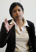 Dr Rupa Huq, Sociologist and Senior Lecturer at Kingston University, and author of Beyond Subculture - Stefano Cagnoni - 30-03-2012