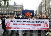 We Rescue People Not Banks. National demonstration by the FBU against cuts in the fire service & proposed changes to firefighters' pension rights. - Stefano Cagnoni - 16-10-2013