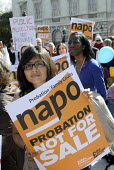 NAPO protest against privatisation of the probation service, Westminster, London - Stefano Cagnoni - 01-04-2014
