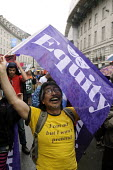 Gay Pride. London. 2014. EQUITY trade union members on the parade. - Stefano Cagnoni - 28-06-2014