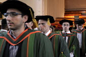 Conclusion of the Graduation ceremony for Mathematics students at the University of Leeds. - Stefano Cagnoni - 16-07-2014