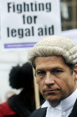 Save Legal Aid rally opposite Parliament. Grayling Day. Westminster. London. - Stefano Cagnoni - 07-03-2014