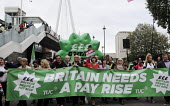 TUC Britain Needs A Pay Rise national demonstration, 2014, London. - Stefano Cagnoni - 18-10-2014