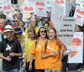 People's Climate Change demonstration, London. - Stefano Cagnoni - 21-09-2014