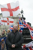 Flaf waving fascists confront anti-racism marchers at Piccadilly Circus, London. - Stefano Cagnoni - 2010s,2015,activist,activists,anti-racism,anti-racist,bigotry,Britain First,British,CAMPAIGN,campaigner,campaigners,CAMPAIGNING,CAMPAIGNS,DEMONSTRATING,DEMONSTRATION,DEMONSTRATIONS,Diaspora,DISCRIMINA
