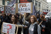 Stand up to racism & fascism march and rally, London. - Stefano Cagnoni - 2010s,2015,activist,activists,against,Anti Racism,anti racist,anti-racism,anti-racist,bigotry,CAMPAIGN,campaigner,campaigners,CAMPAIGNING,CAMPAIGNS,DEMONSTRATING,DEMONSTRATION,DEMONSTRATIONS,Detention