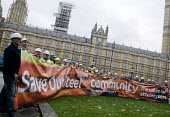 Steelworkers lobbying Parliament to Save Our Steel, prior to a debate on the future of the UK steel industry. - Stefano Cagnoni - 28-10-2015