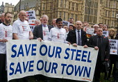 Steelworkers lobbying Parliament to Save Our Steel, prior to a debate on the future of the UK steel industry. - Stefano Cagnoni - ,2010s,2015,activist,activists,banner,banners,campaign,campaigner,campaigners,campaigning,CAMPAIGNS,capitalism,capitalist,closed,closing,closure,closures,Community Union,DEMONSTRATING,demonstration,DE