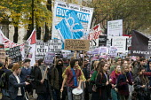 National students protest against fees for education, London, 2015. - Stefano Cagnoni - 04-11-2015