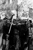 Justice for Black People demonstration in 1985 - called following the deaths of two innocent black women, Cherry Groce and Cynthia Jarrett - Stefano Cagnoni - ,1980s,1985,activist,activists,BAME,BAMEs,bigotry,Black,BME,bmes,CAMPAIGN,campaigner,campaigners,CAMPAIGNING,CAMPAIGNS,DEATH,deaths,demonstrate,DEMONSTRATING,demonstration,DEMONSTRATIONS,died,DISCRIMI
