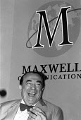 Robert Maxwell at the Maxwell Communications Corporation AGM in 1990 - Stefano Cagnoni - 12-09-1990