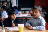 Asian boys at a Church of England primary school in Blackburn - Stefano Cagnoni - 20-09-1995