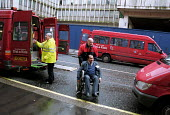 Dial-a-Ride transport service for the disabled in operation - Stefano Cagnoni - 2000s,2002,a,access,age,ageing population,aid,asian,assistance,BAME,BAMEs,black,BME,bmes,bound,cities,city,Dial,disabilities,disability,disable,disabled,disablement,diversity,EBF economy,elderly,ethni