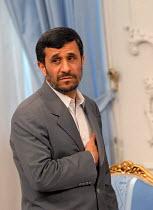 Iran's president Mahmoud Ahmadinejad in Tehran, Iran. - Siavash Habibollahi - 06-04-2008