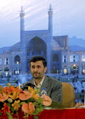 Iranian President Mahmoud Ahmadinejad speaks at the opening ceremony of the 29th Annual Session of the OPEC Ministerial Council in Isfahan, Iran. - Siavash Habibollahi - 17-06-2008