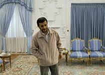 Iranian president Mahmoud Ahmadinejad in Tehran Iran. - Siavash Habibollahi - 10-09-2007