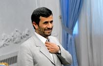 Iran's President Mahmoud Ahmadinejad - Siavash Habibollahi - 17-03-2008