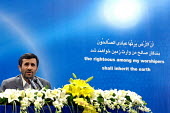 Iran's President Mahmoud Ahmadinejad speaks with journalists during a news conference in Tehran, Iran. - Siavash Habibollahi - 13-05-2008