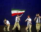 Iranian Artists perform during the Sing this Season Together With Me music show to commemorate of the anniversary of Iran-Iraq war (1980-88) at Vahdat hall in Tehran, Iran. Sept 27, 2007. - Siavash Habibollahi - 26-09-2007