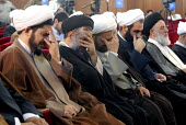 Faizieh is one of the oldest islamic school in the city of Qom, and is one of the most famous centers of theology related to the shiite sect. Iranian clergymen attend a seminary and cry for a religiou... - Siavash Habibollahi - 31-05-2007