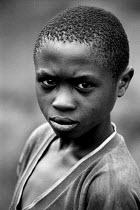 Congolese refugee in the Kibuye camp. Rwanda, 2003 - Steven Langdon - 03-08-2003