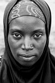 Burundi refugee woman at the Butare refugee camp, Rwanda, 2003 - Steven Langdon - 03-08-2003