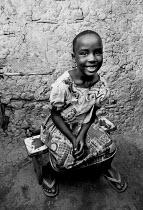 Congolese refugee child, Kibuye camp, Rwanda, 2003 - Steven Langdon - 03-08-2003