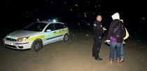 Polzeath beach cornwall, policing a Dispersal order and alcohol ban. - Sam Morgan Moore - 20-06-2003