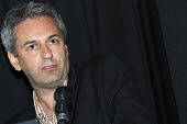 Kevin Maguire, political editor of the Daily Mirror, speaking at a meeting of Thompsons Solicitors and Partners in London. - Janina Struk - 27-06-2008