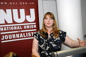 Michelle Stanistreet, NUJ GS speaking at a fringe meeting the Womens' TUC. - Janina Struk - 12-03-2012