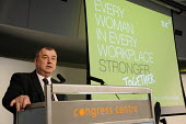 Brendan Barber, TUC GS speaking at Womens TUC conference. - Janina Struk - 15-03-2012