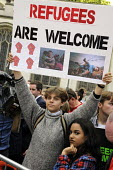 Refugees are welcome protest London - Janina Struk - 12-09-2015