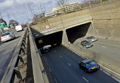 The eastern side of the A40 underpass beneath the A406 North Circular Road at the Hanger Lane Gyratory system - John Sturrock - 12-03-2005