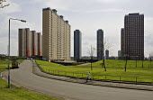 Glasgow Housing Association (GHA) has announced plans to pull down the citys notorious Red Road scheme as part of a 60m redevelopment. The eight high-rise blocks - 1,300 flats packed onto this small s... - John Sturrock - 2000s,2005,ACE,architecture,bad,block,blocks,buildings,cities,city,culture,EBF Economy,estate,ESTATES,flat,flats,gha,Glasgow,High Rise,High-rise,highway,housing,inner,plans,poor,Road,ROADS,scheme,scot
